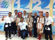 OPEN CEREMORY GREECE TEAM SWIM 2014